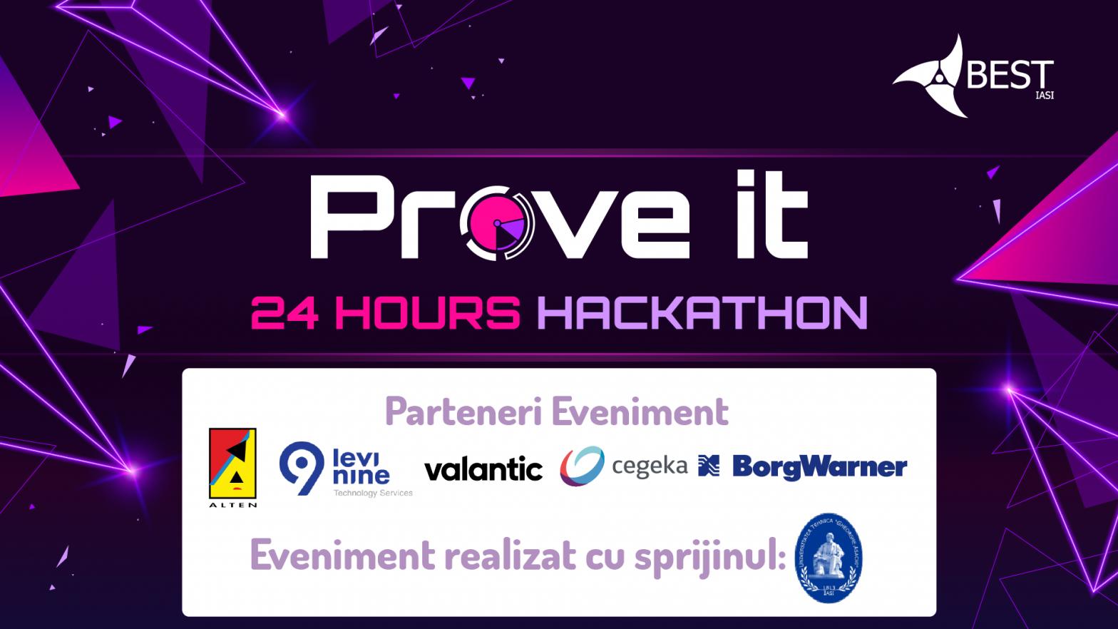 Prove it – 24 Hours Hackathon