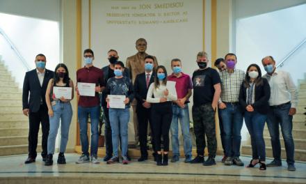 Primele trei acceleratoare de business universitar din România și-au încheiat prima ediție