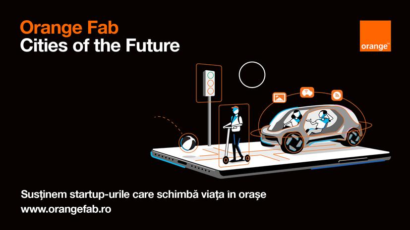 Acceleratorul Orange Fab include 4 startup-uri în programul Cities of the Future