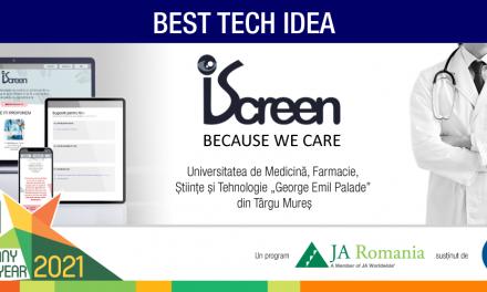 Studenții UMFST Târgu Mureș câștigători ai Best Tech Idea Award