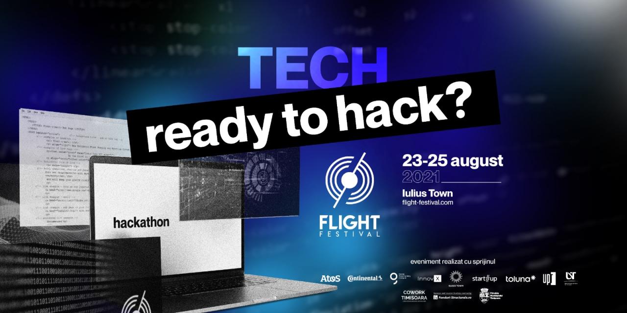 S-au deschis înscrierile pentru FLIGHT Hackathon – premii de până la 15.000 euro pentru idei de schimbare a comunității din Timișoara