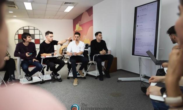 The Entrepreneurship Academy oferă burse în valoare totală de 500.000 de euro
