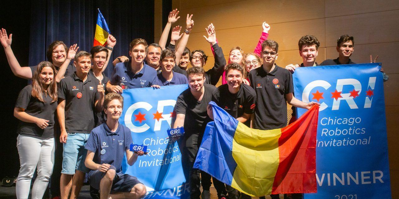 Echipa de robotică a României a obținut locul întâi la Campionatul Internațional de la Chicago