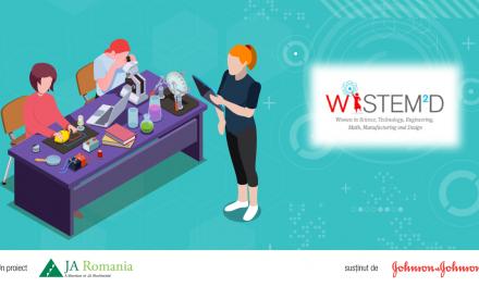 Cea de-a treia ediție a proiectului WiSTEM²D a reunit peste 8.000 de elevi români