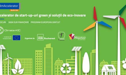 ClimAccelerator, un program de inovare pentru start-up-uri green