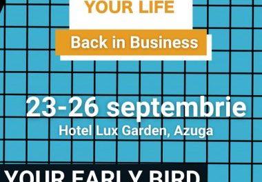 """S-au deschis înscrierile pentru tabăra Startup Your Life – """"Back in Business"""""""