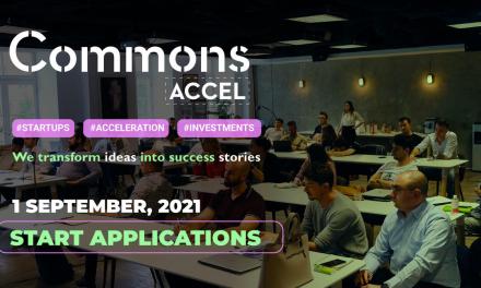 Commons Accel deschide înscrierile pentru ediția #5 a programului
