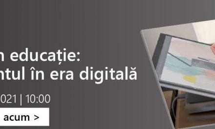 Rectorii celor mai mari universități din țară participă la conferința Inovație în educație: Învățământul în era digitală