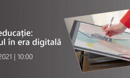 Sorin Ion, Secretar de Stat în Ministerul Educației, va participa la conferința virtuală: Inovație în educație, joi, 16 septembrie