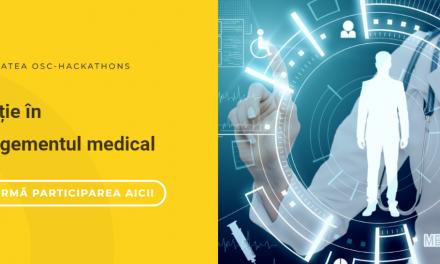 Comunitatea OSC Hackathons organizează o nouă întâlnire în luna septembrie: Inovație în managementul medical