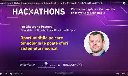 Dr. Ion-Gheorghe Petrovai crede în eficientizarea medicinei prin tehnologizare