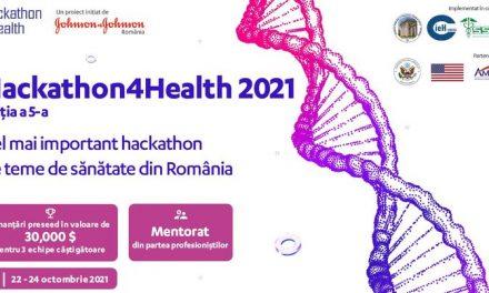 20 octombrie, ultima zi în care studenții se pot înscrie în cadrul Hackathon4Health pentru a deveni inovatorii domeniului medical din România