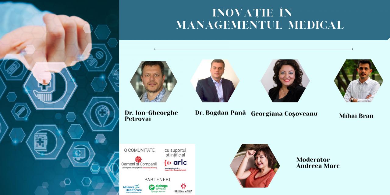 Inovație în managementul medical –  Întâlnire dedicată digitalizării în medicină