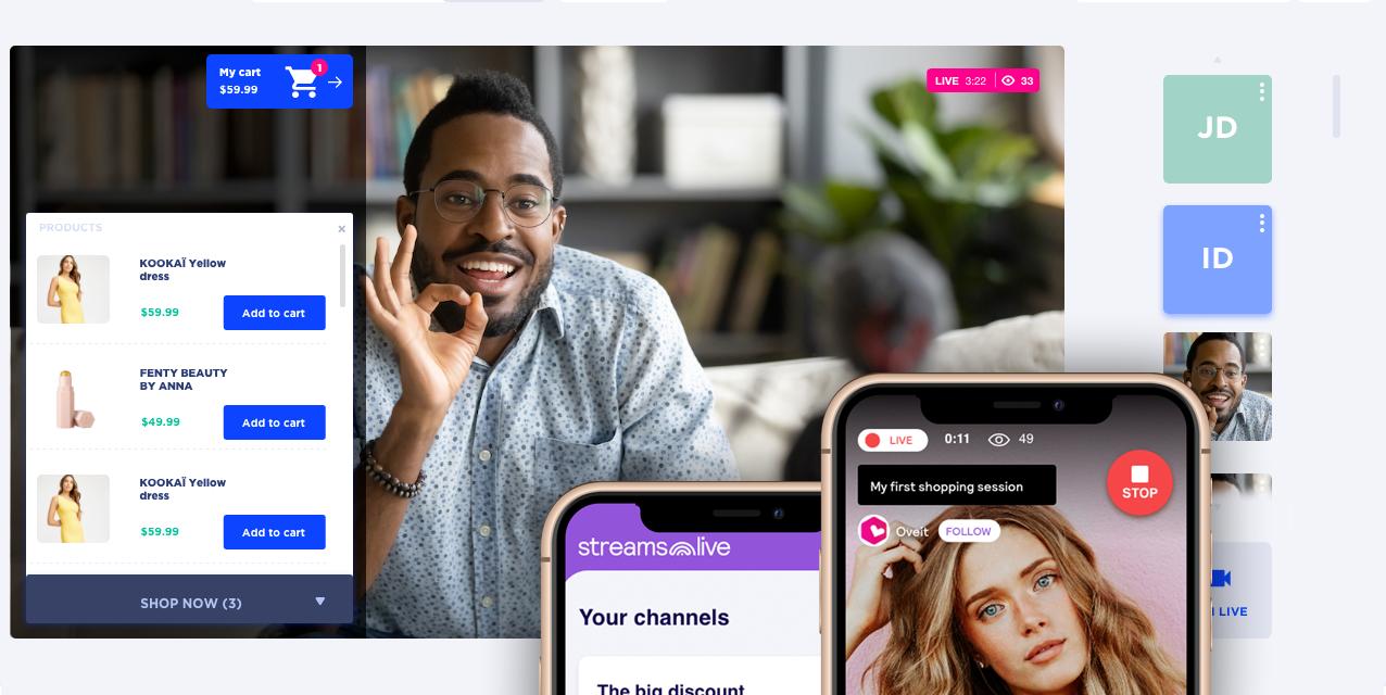 Oveit anunță integrarea cu Shopify pentru Streams.Live, prima soluție de Live Stream Shopping din România